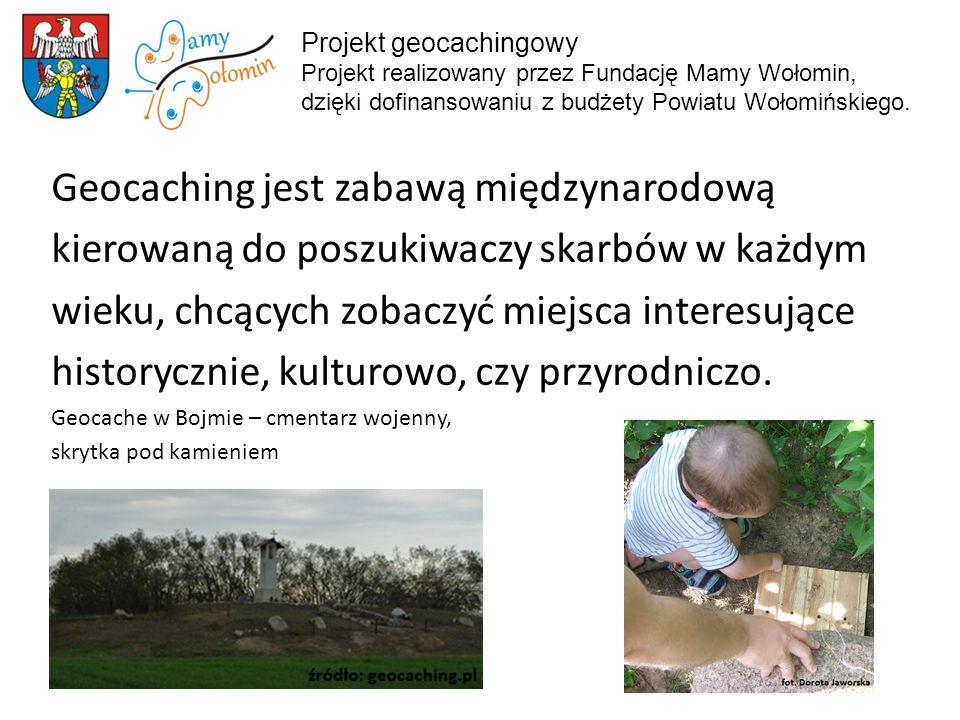 Geocaching jest zabawą międzynarodową