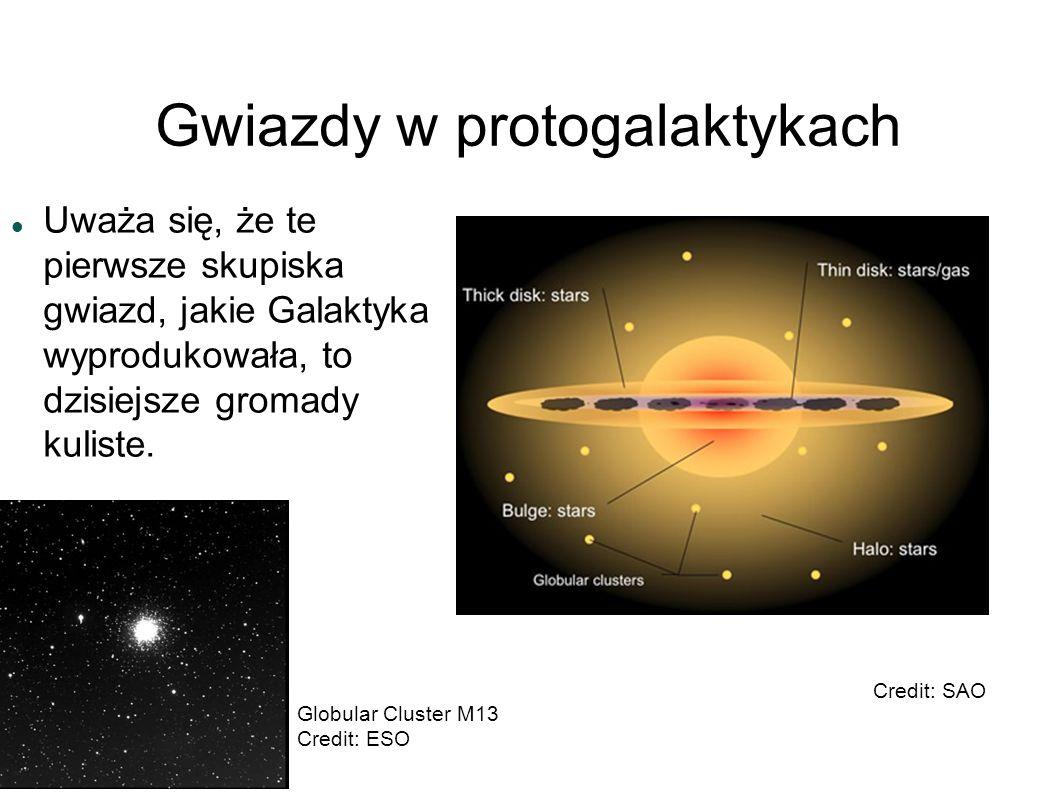 Gwiazdy w protogalaktykach
