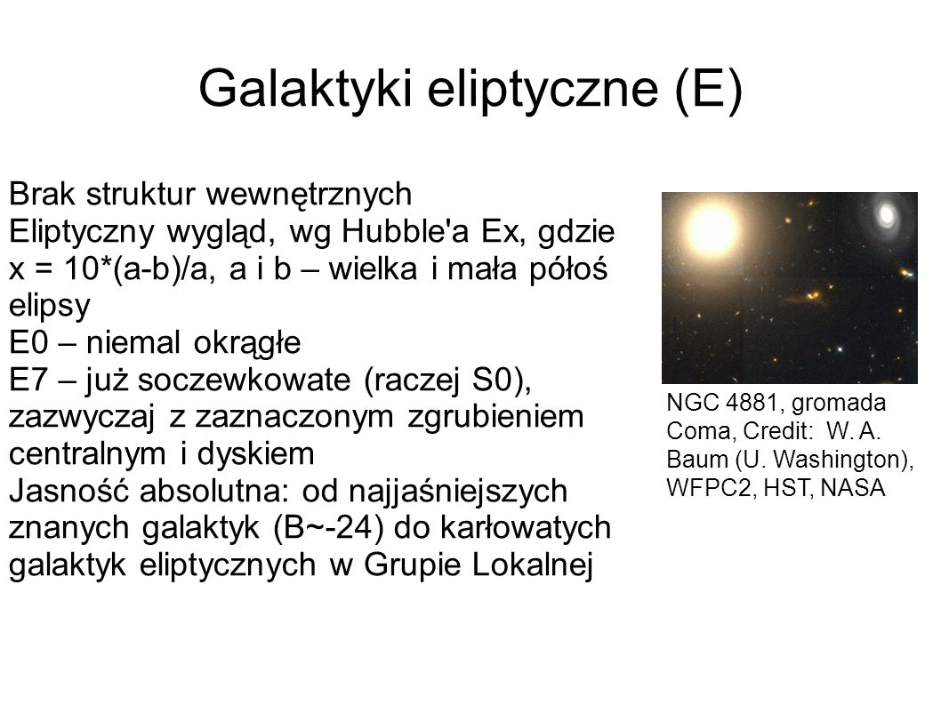 Galaktyki eliptyczne (E)