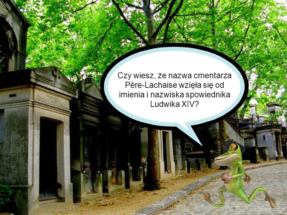 Czy wiesz, że nazwa cmentarza