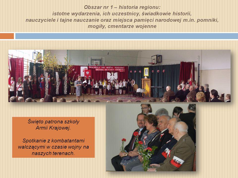 Święto patrona szkoły Armii Krajowej.