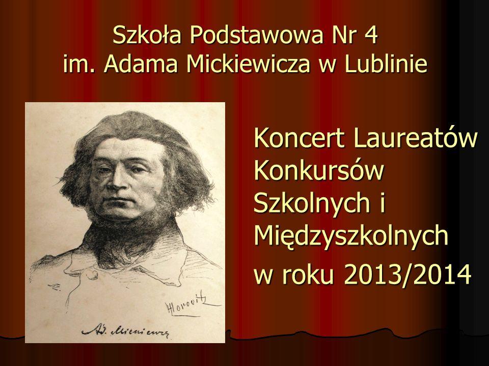 Szkoła Podstawowa Nr 4 im. Adama Mickiewicza w Lublinie