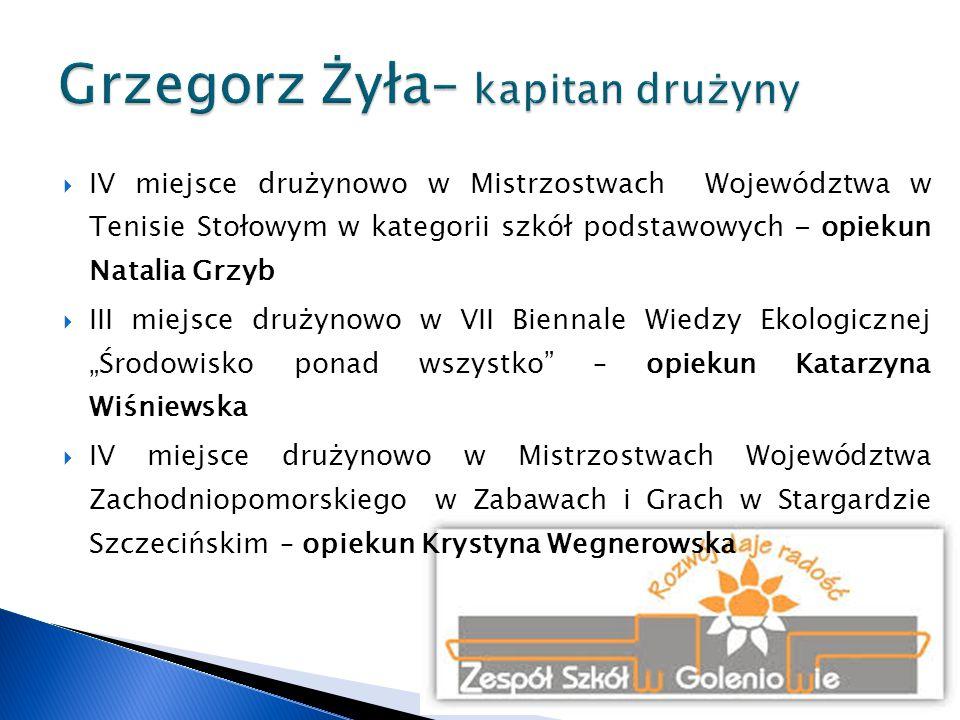 Grzegorz Żyła– kapitan drużyny