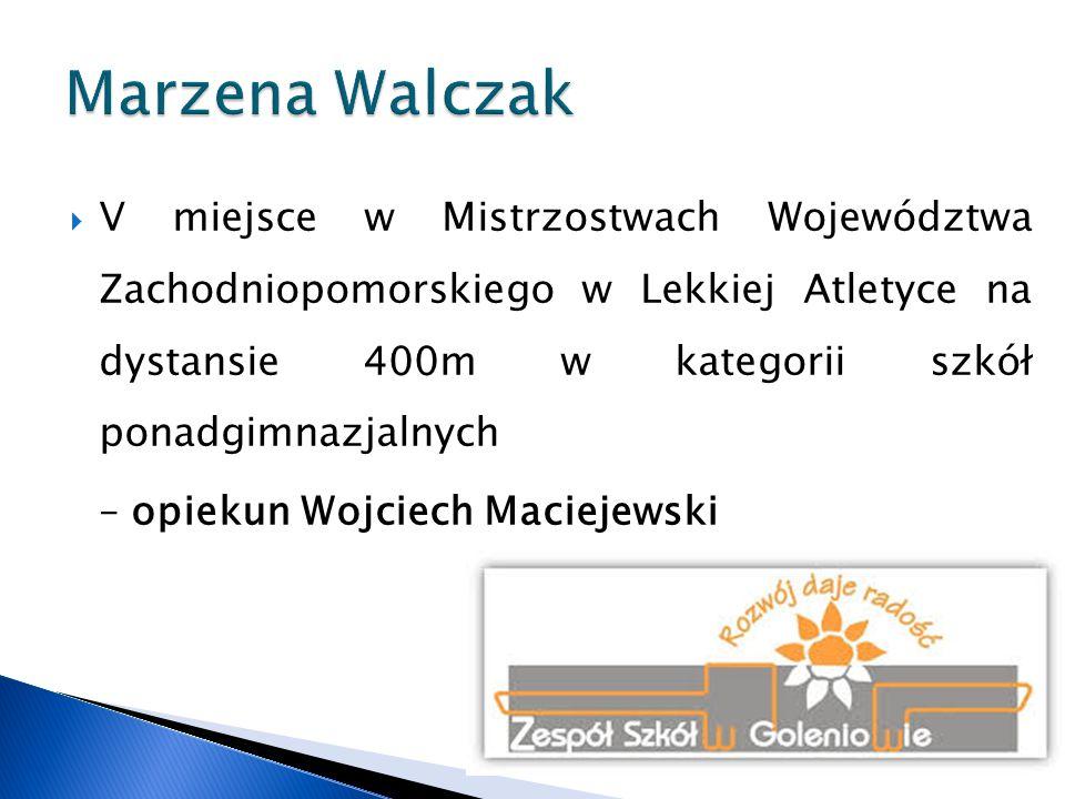 Marzena Walczak