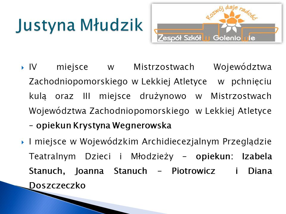 Justyna Młudzik