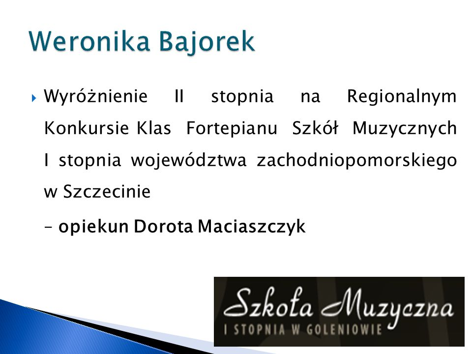 Weronika Bajorek