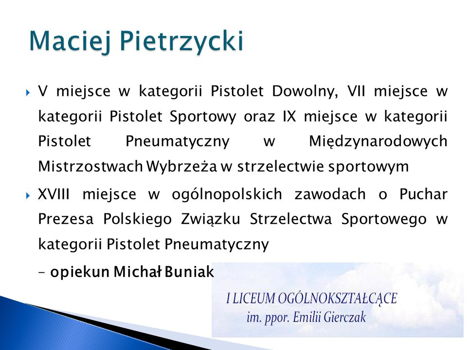 Maciej Pietrzycki
