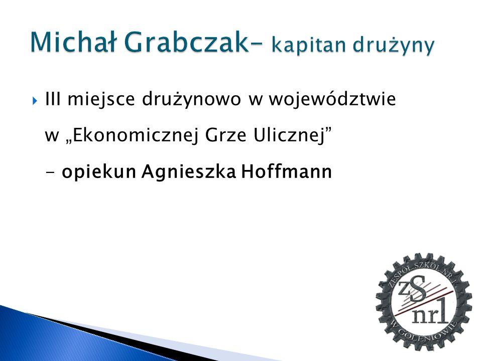 Michał Grabczak– kapitan drużyny