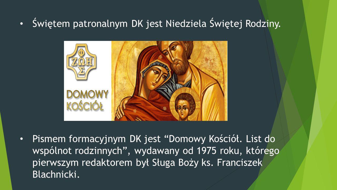Świętem patronalnym DK jest Niedziela Świętej Rodziny.