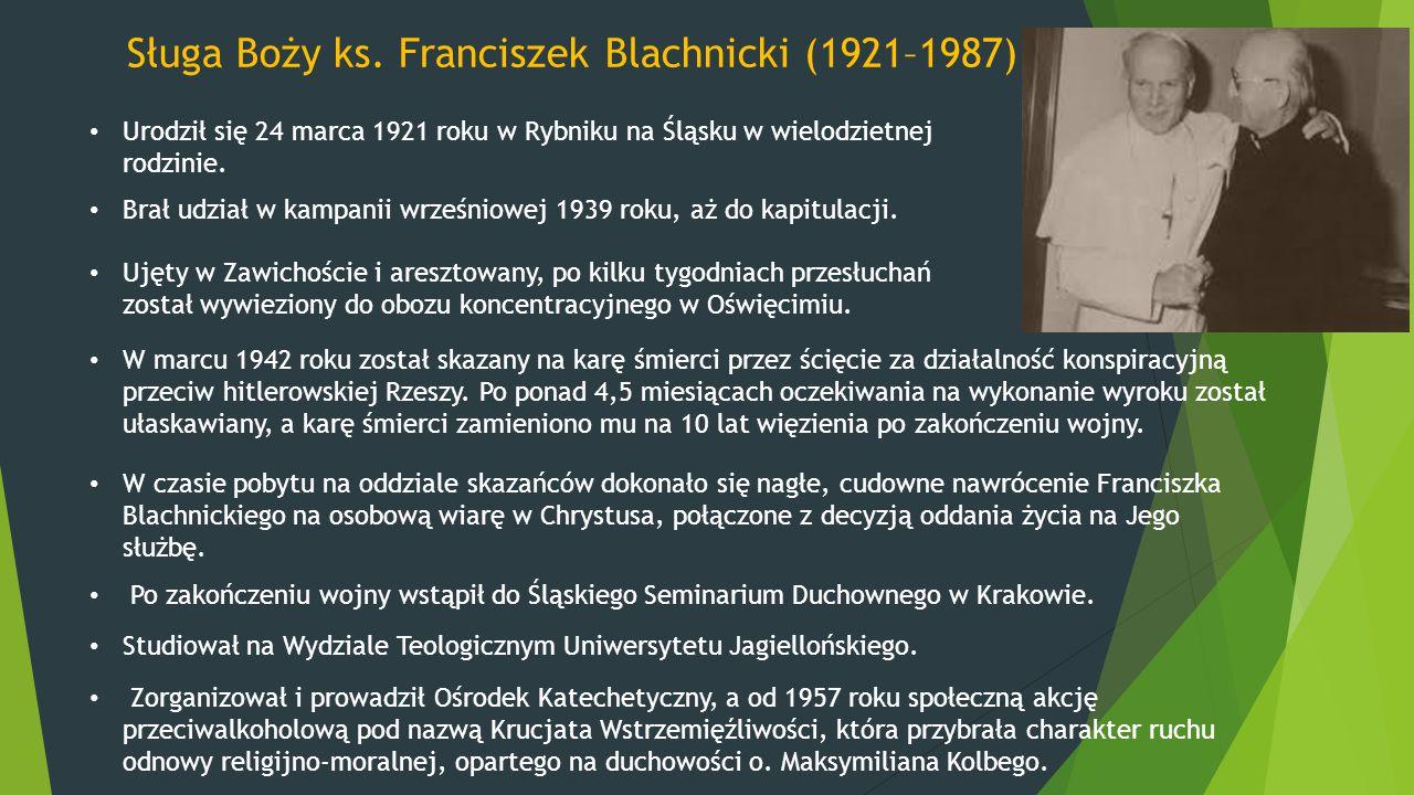 Sługa Boży ks. Franciszek Blachnicki (1921–1987)