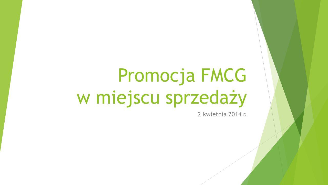 Promocja FMCG w miejscu sprzedaży