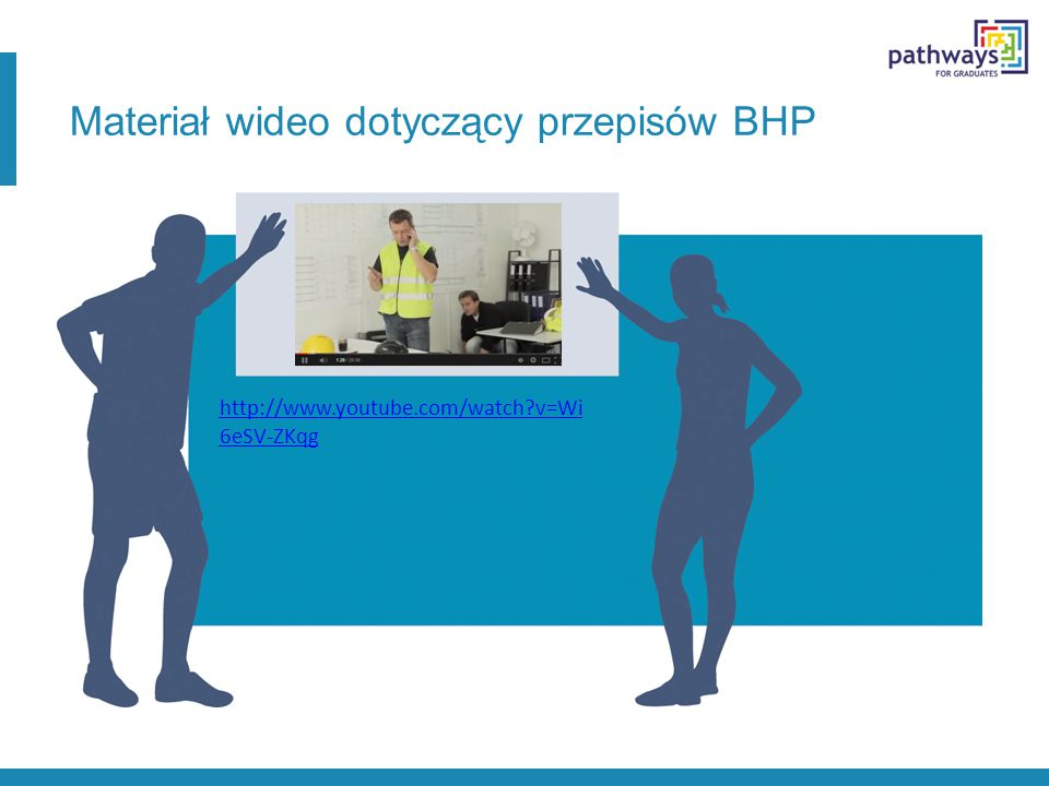 Materiał wideo dotyczący przepisów BHP