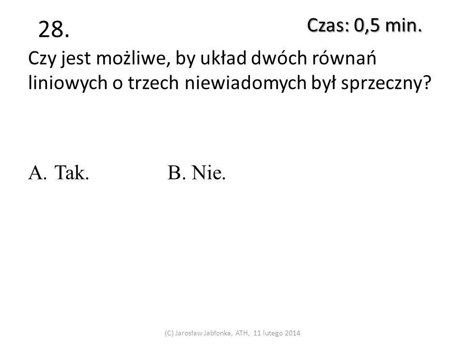 (C) Jarosław Jabłonka, ATH, 11 lutego 2014