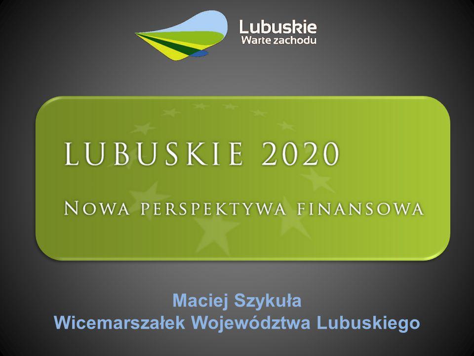 Wicemarszałek Województwa Lubuskiego
