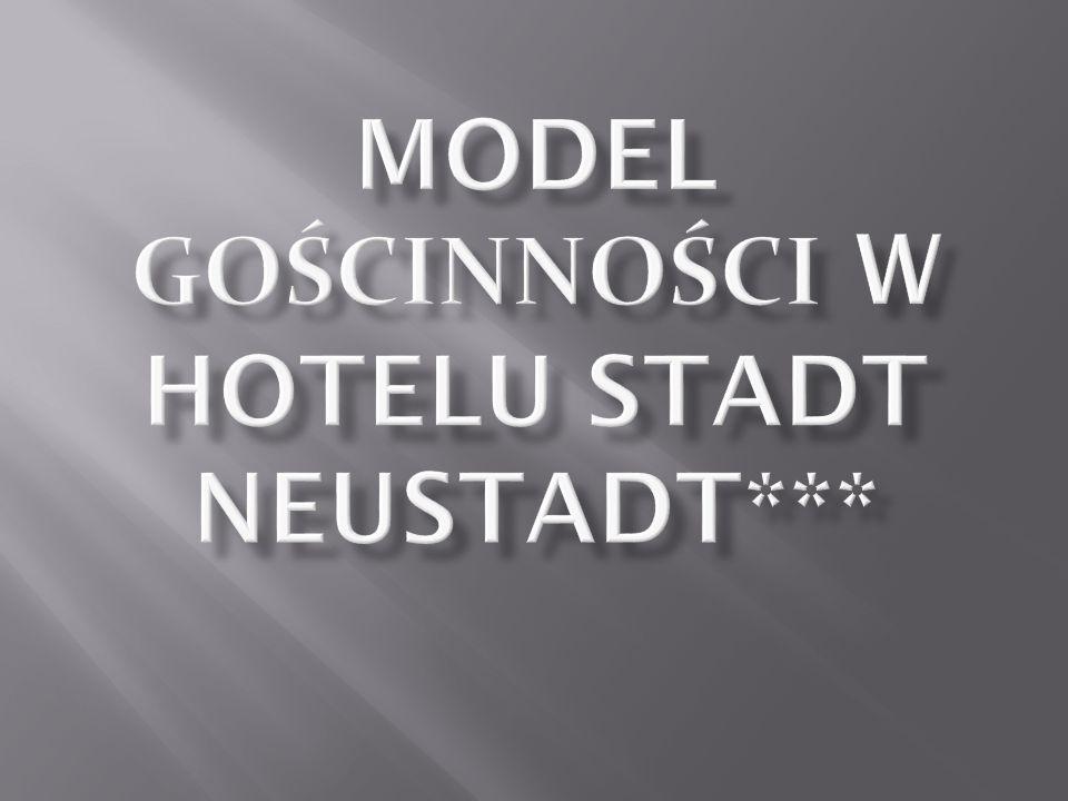 Model gościnności w Hotelu Stadt Neustadt***