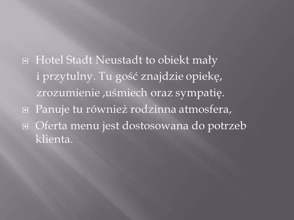 Hotel Stadt Neustadt to obiekt mały
