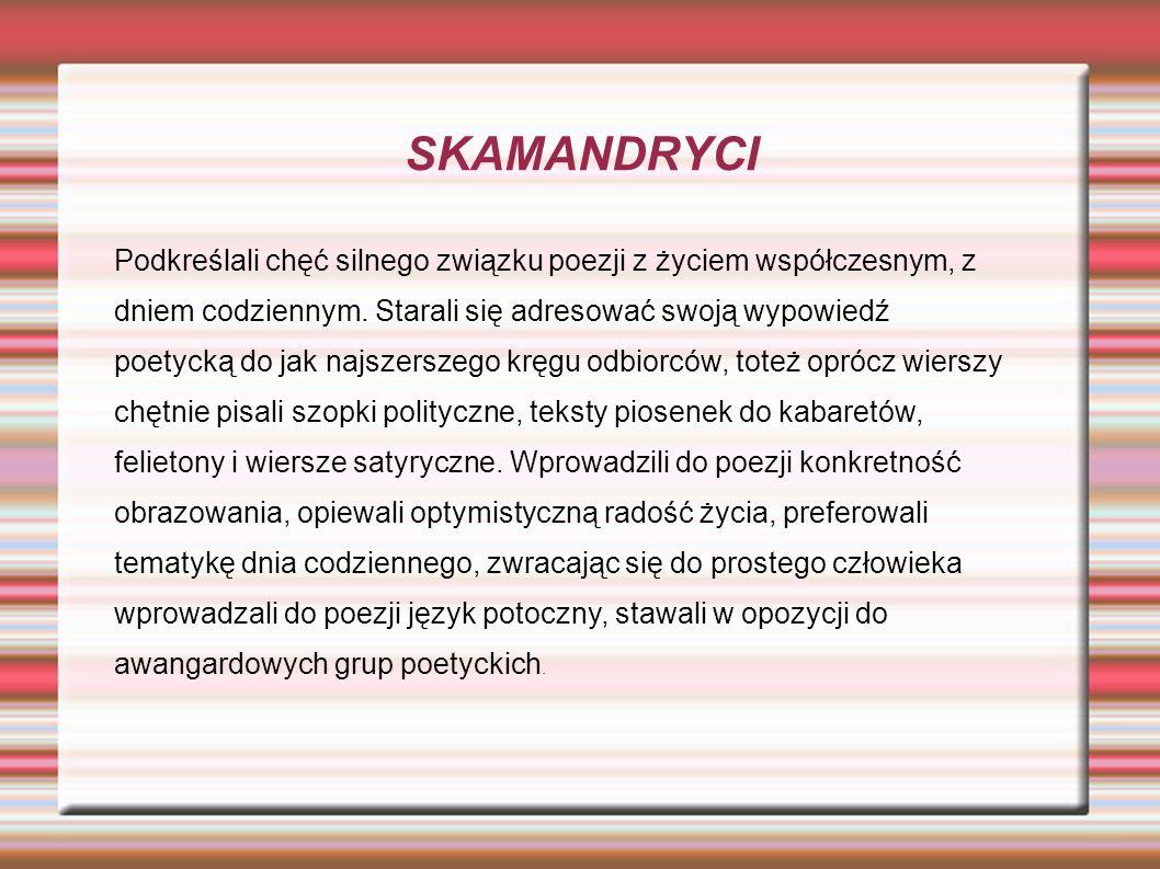 SKAMANDRYCI