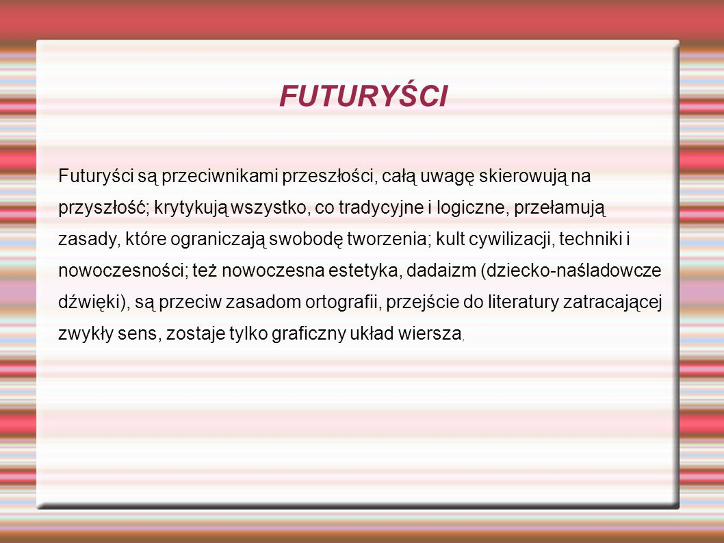 FUTURYŚCI