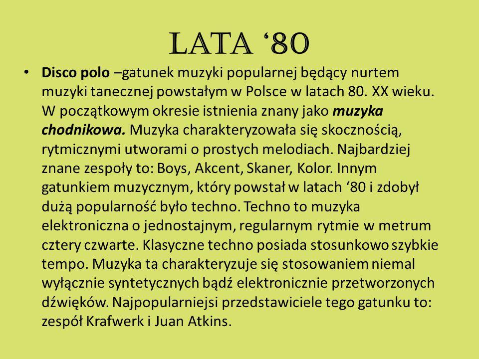Lata '80
