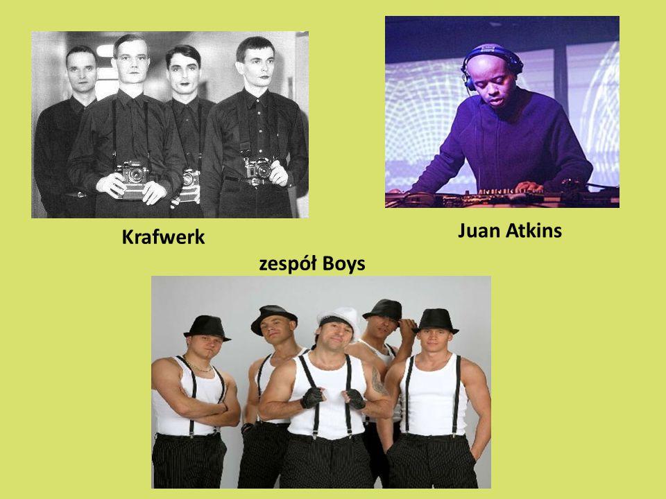 Juan Atkins Krafwerk zespół Boys