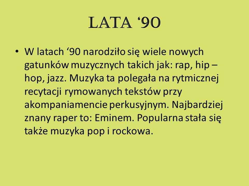 Lata '90