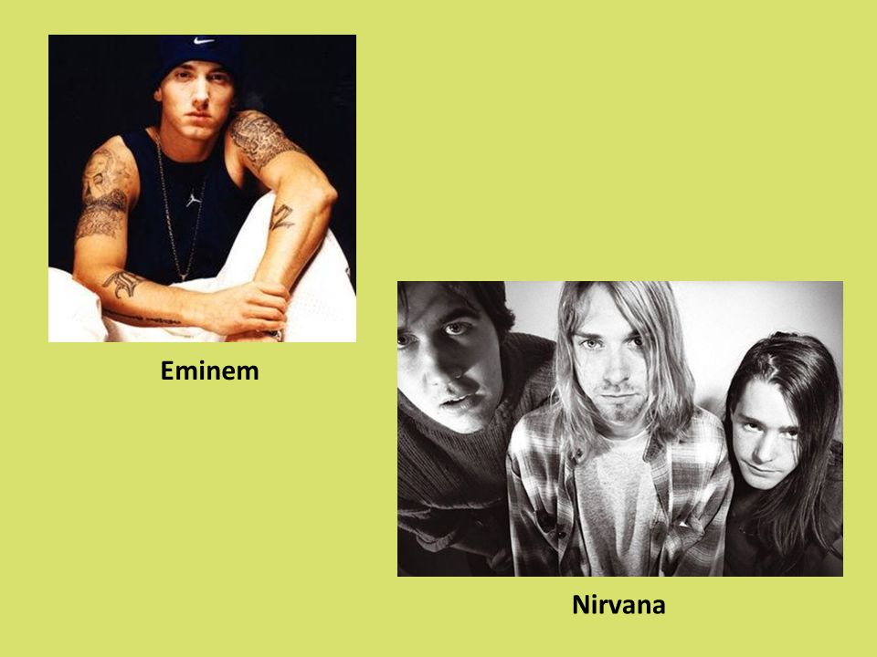 Eminem Nirvana
