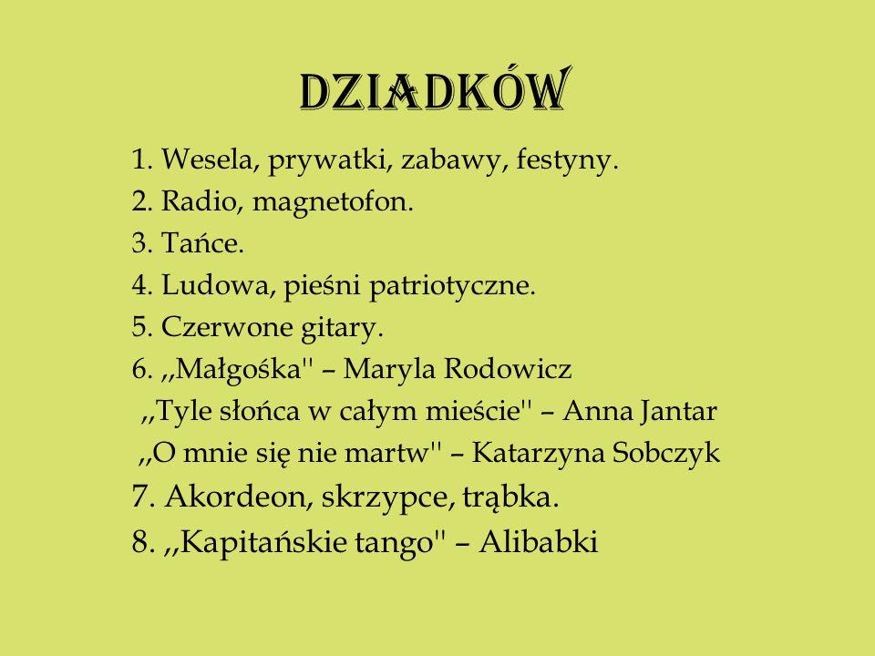DZIADKÓW 7. Akordeon, skrzypce, trąbka.
