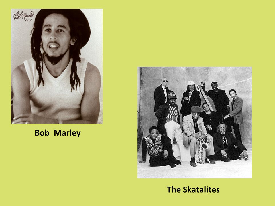 Bob Marley The Skatalites