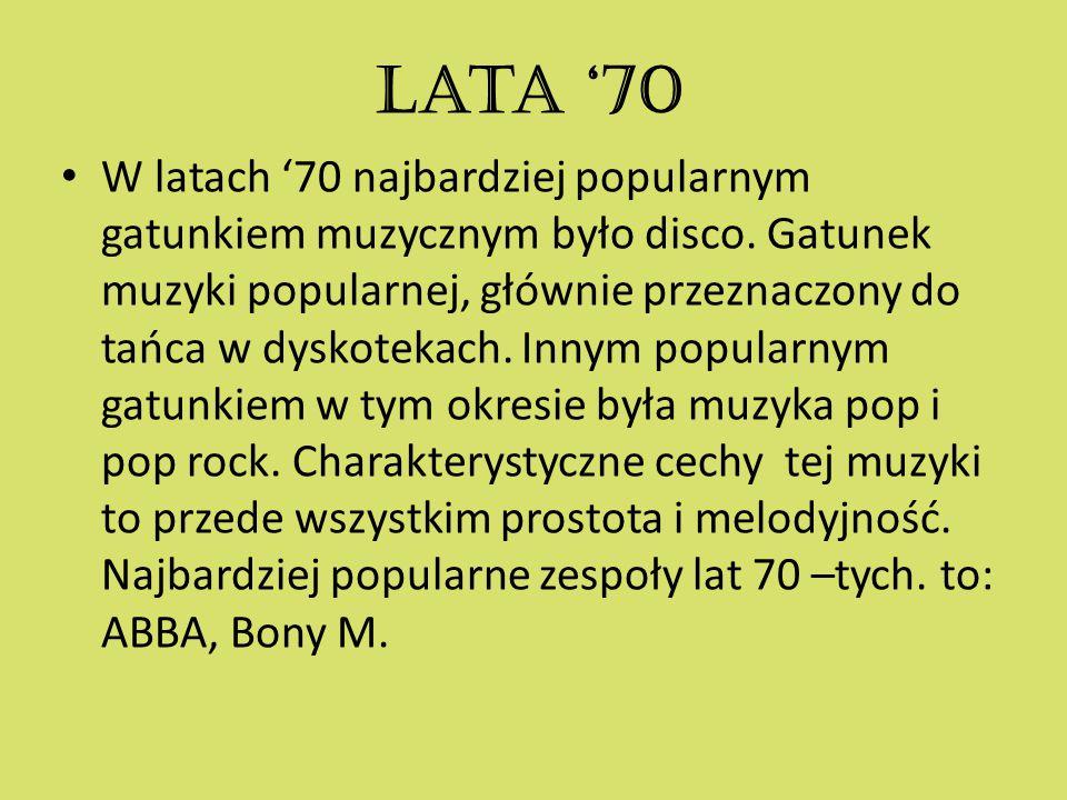 Lata '70