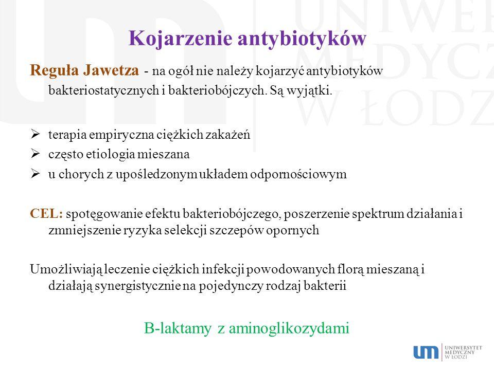 Kojarzenie antybiotyków
