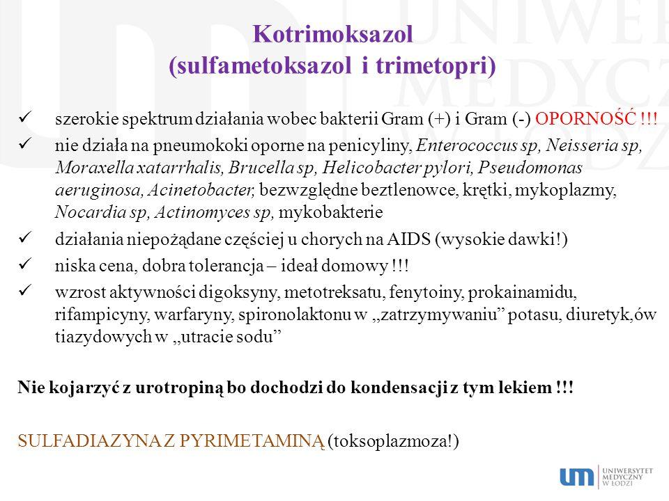 Kotrimoksazol (sulfametoksazol i trimetopri)