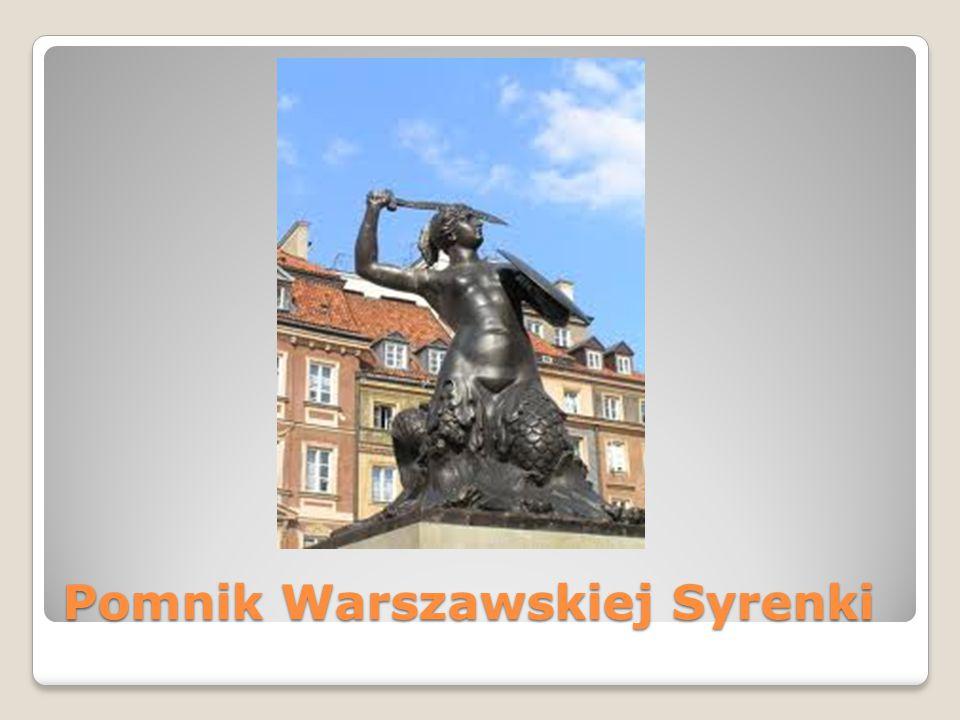 Pomnik Warszawskiej Syrenki