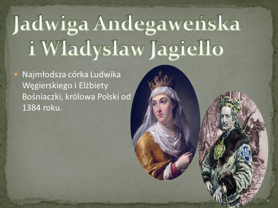 Jadwiga Andegaweńska i Władysław Jagiełło