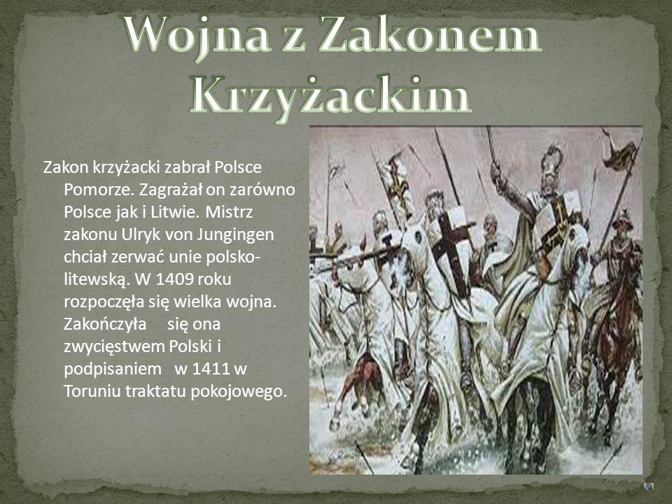 Wojna z Zakonem Krzyżackim