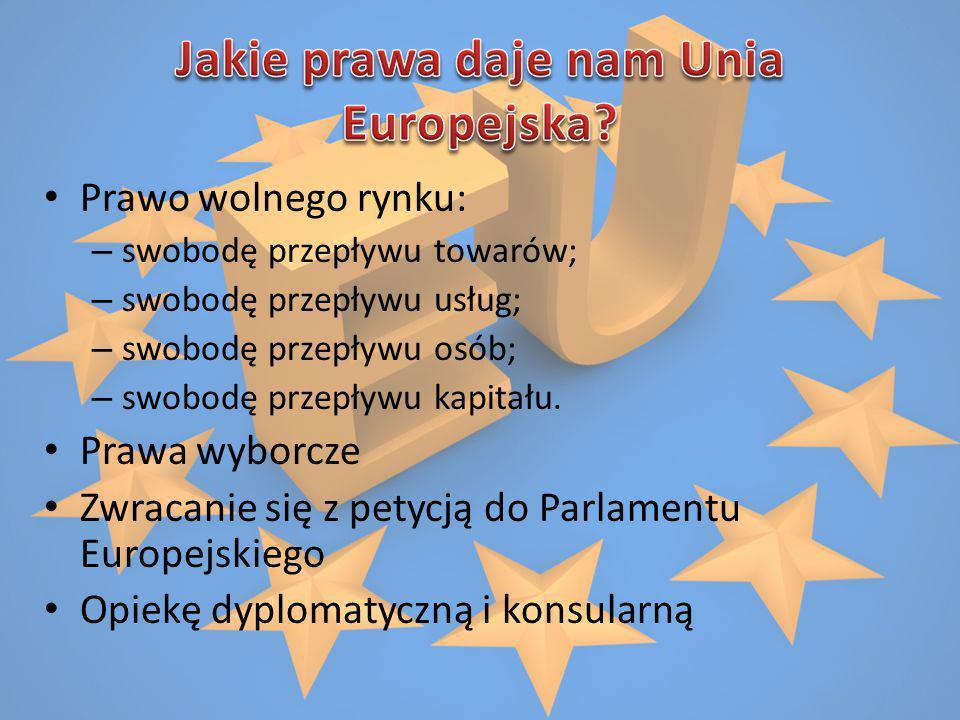 Jakie prawa daje nam Unia Europejska