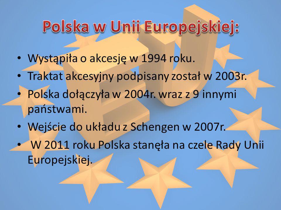 Polska w Unii Europejskiej: