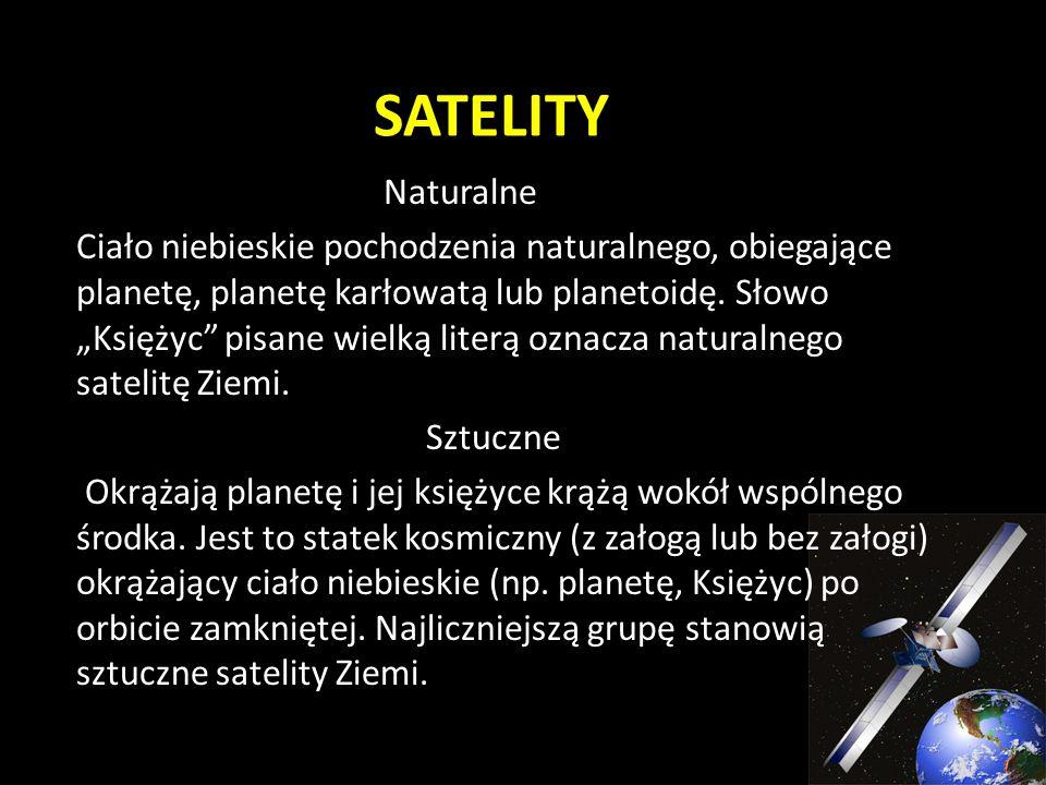 SATELITY Naturalne.