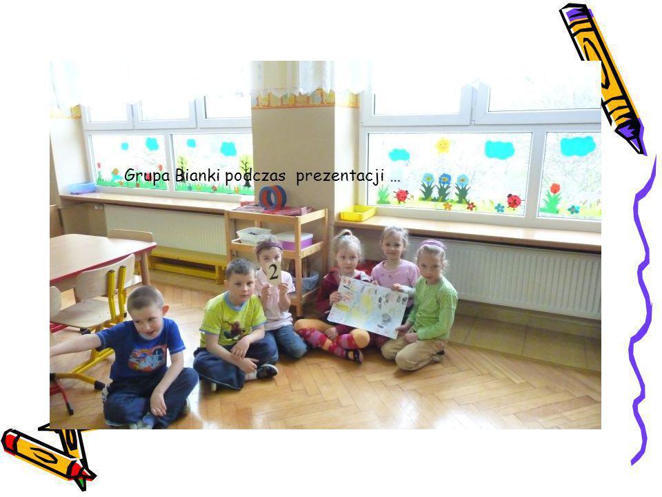 Grupa Bianki podczas prezentacji …