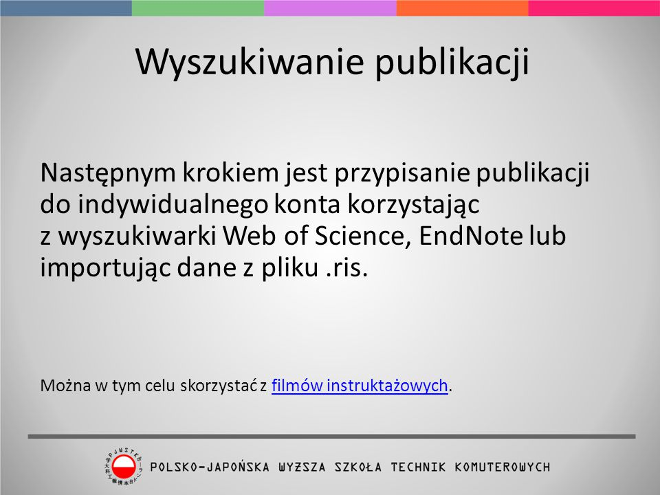 Wyszukiwanie publikacji