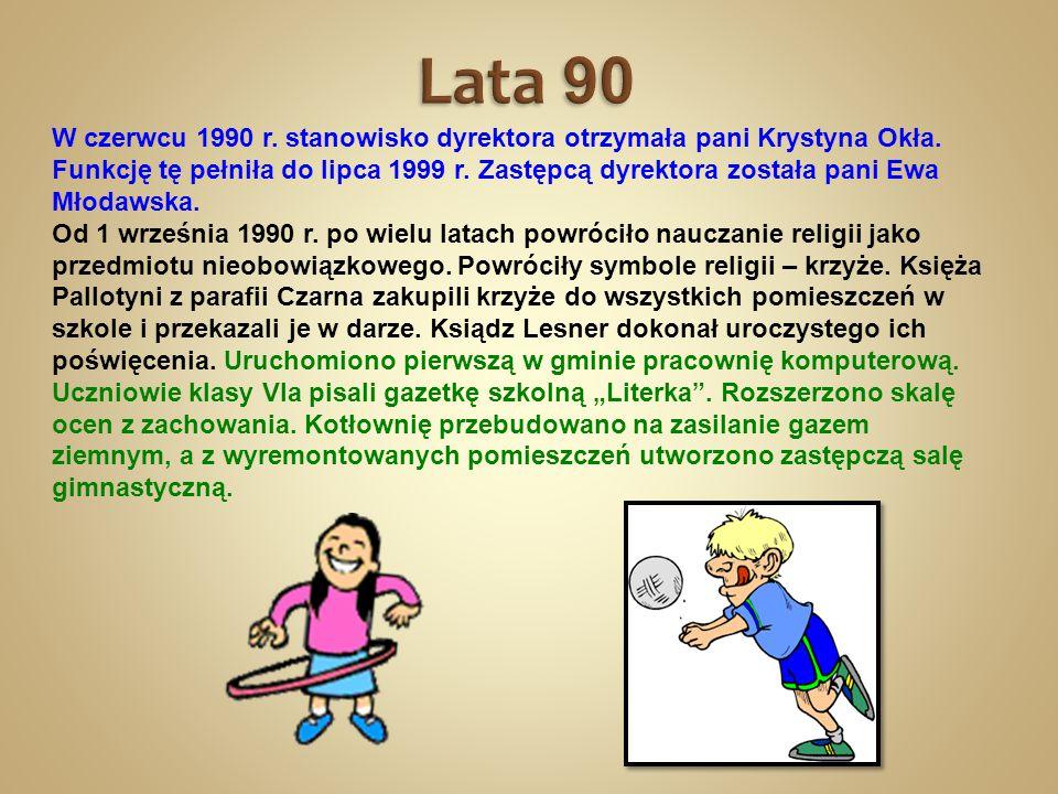 Lata 90