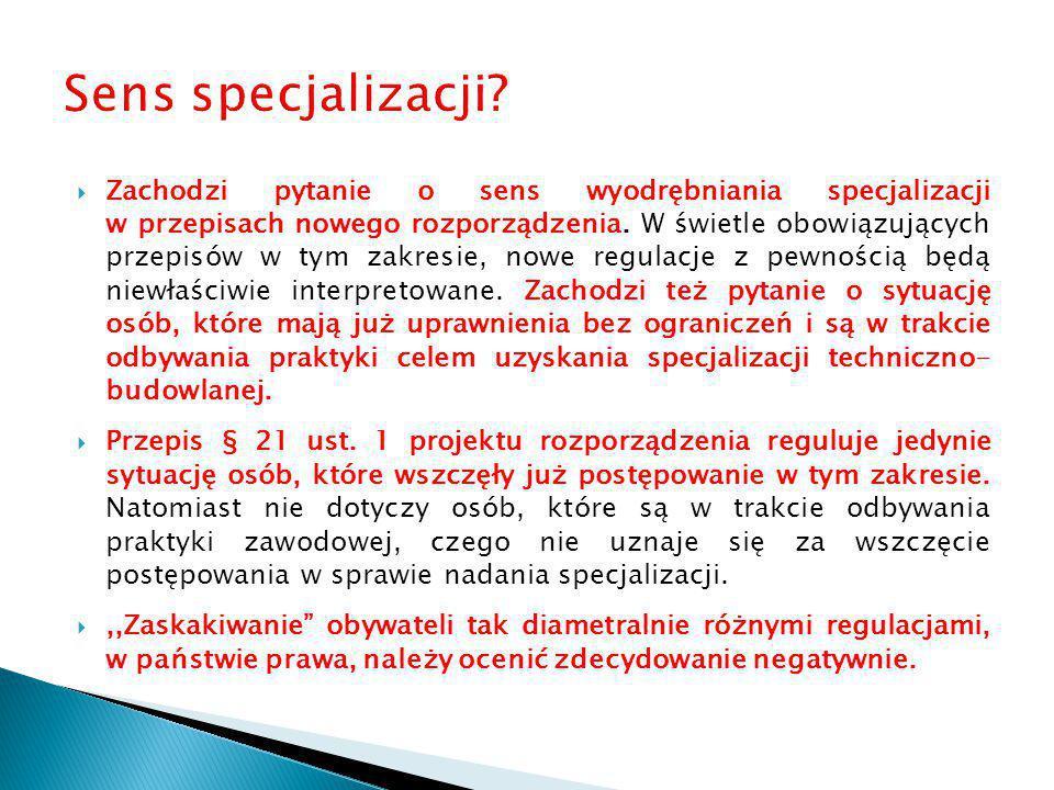 Sens specjalizacji