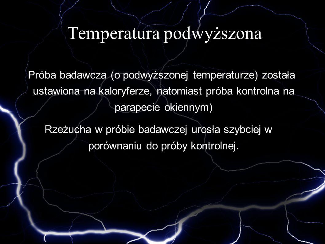 Temperatura podwyższona