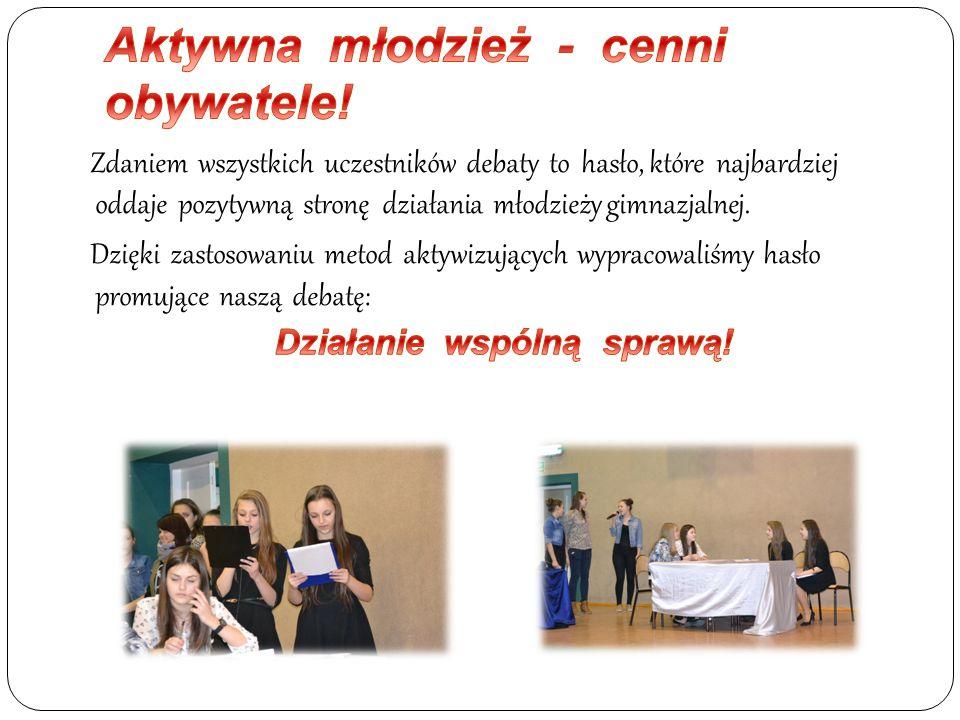 Aktywna młodzież - cenni obywatele!