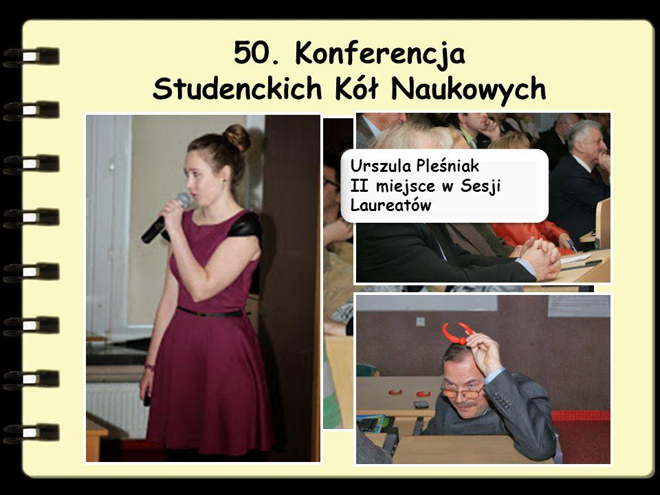 50. Konferencja Studenckich Kół Naukowych
