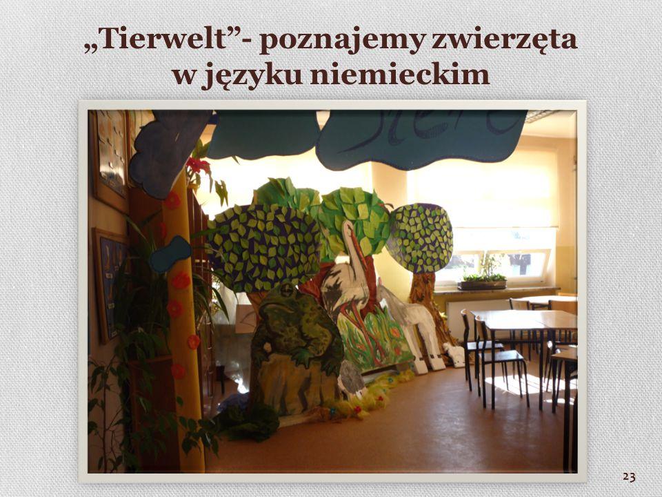 """""""Tierwelt - poznajemy zwierzęta w języku niemieckim"""