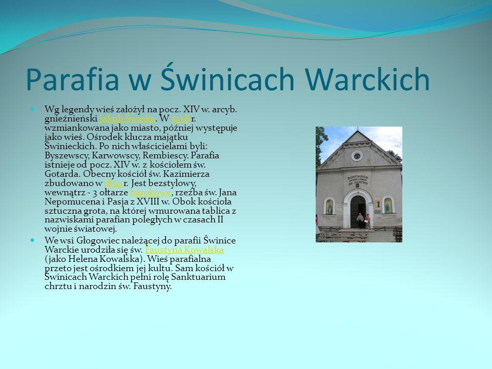 Parafia w Świnicach Warckich