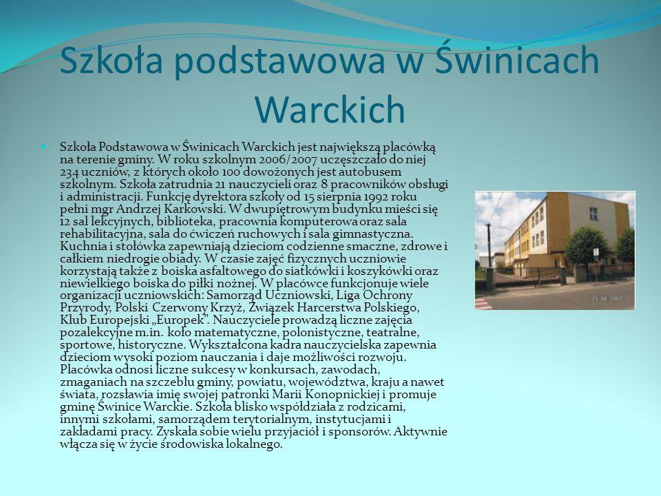 Szkoła podstawowa w Świnicach Warckich