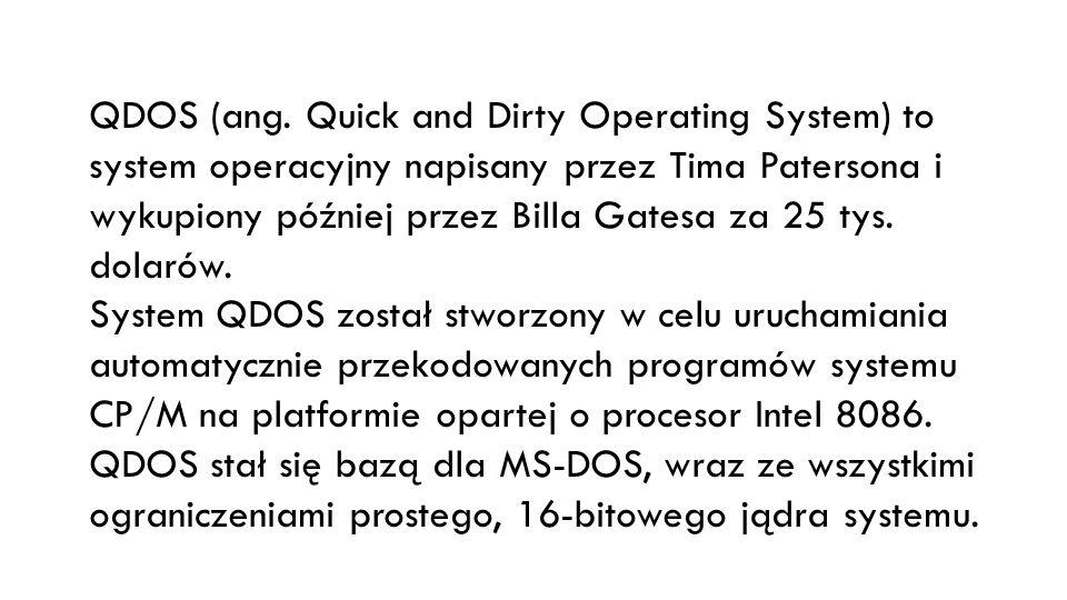 QDOS (ang.