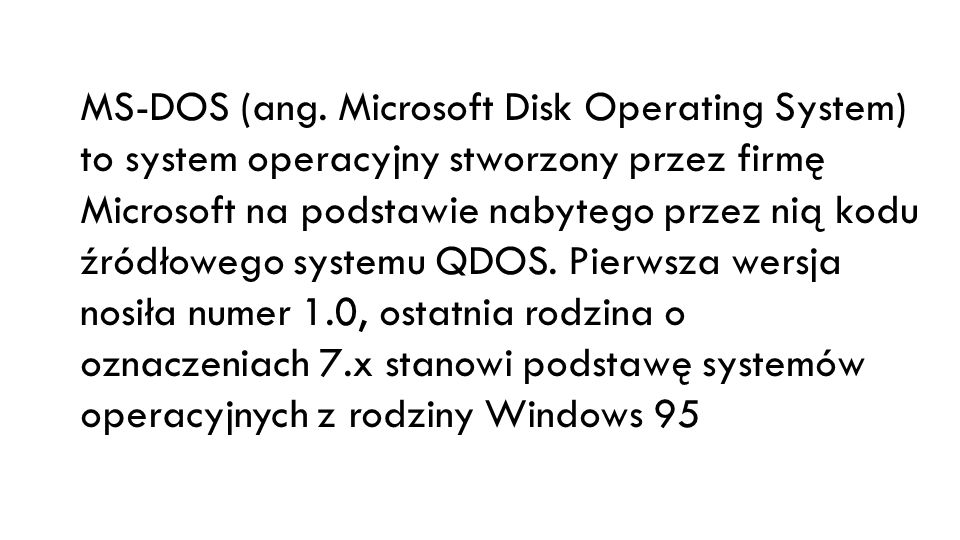 MS-DOS (ang.
