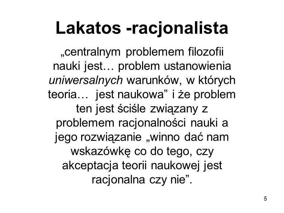 Lakatos -racjonalista